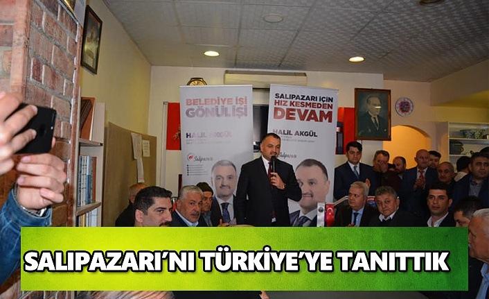 Salıpazarı'nı Türkiye'ye tanıttık