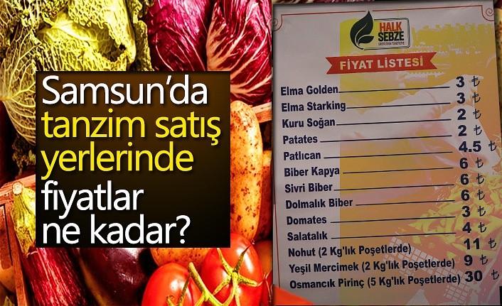 Samsun'da tanzim satış yerlerinde fiyatlar ne kadar?