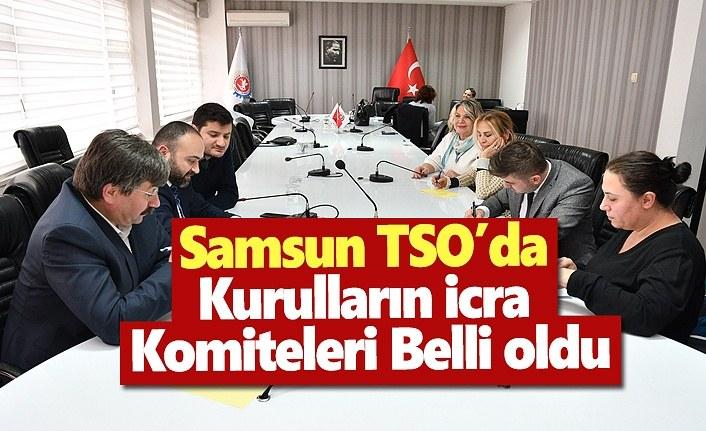 Samsun TSO'da Kurulların İcra Komiteleri belli oldu