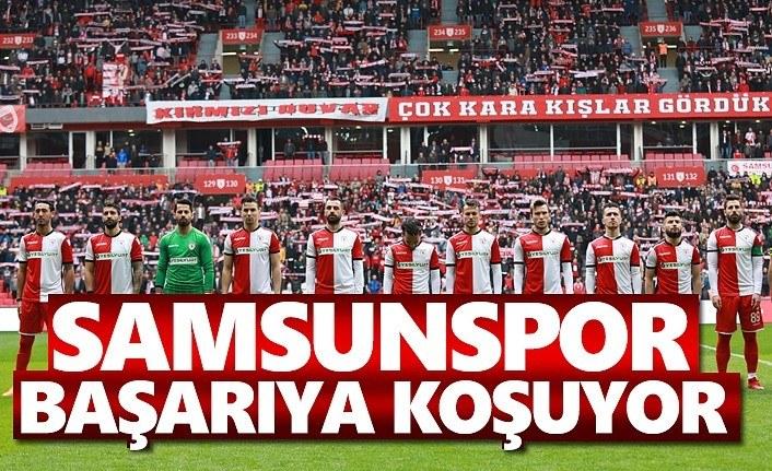 Samsunspor Başarıya Koşuyor