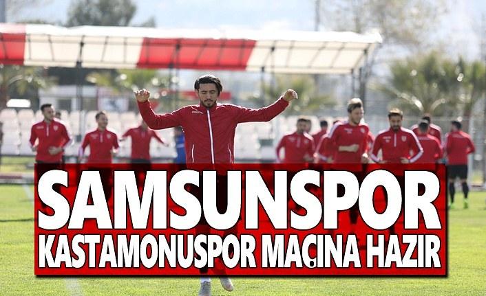 Samsunspor Kastamonuspor 1966 Maçına Hazır