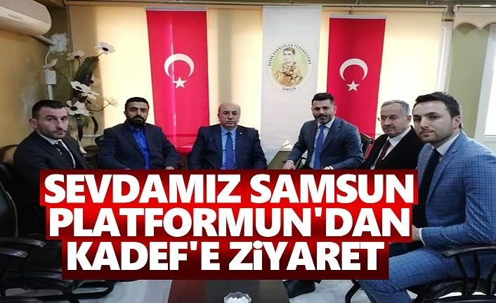 Sevdamız Samsun Platformun'dan Kadef'e Ziyaret