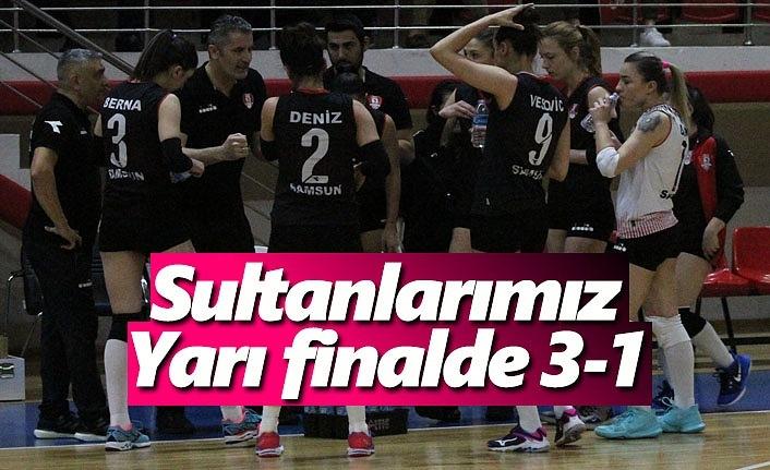 Sultanlarımız yarı finalde 3-1