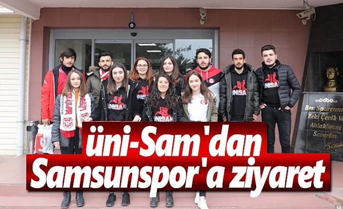 Üni-Sam'dan Samsunspor'a ziyaret