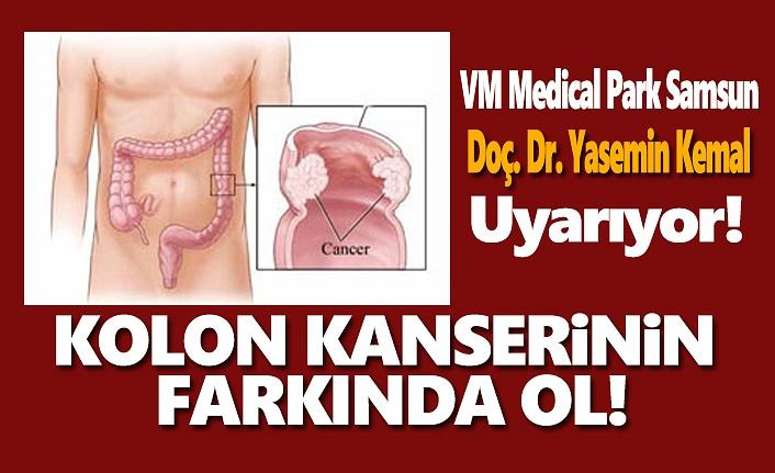VM Medical Park Uyarıyor, Kolon Kanseri Nedir!