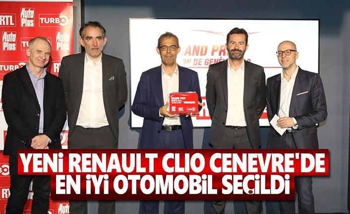 Yeni Renault Clıo Cenevre'de En iyi otomobil Seçildi