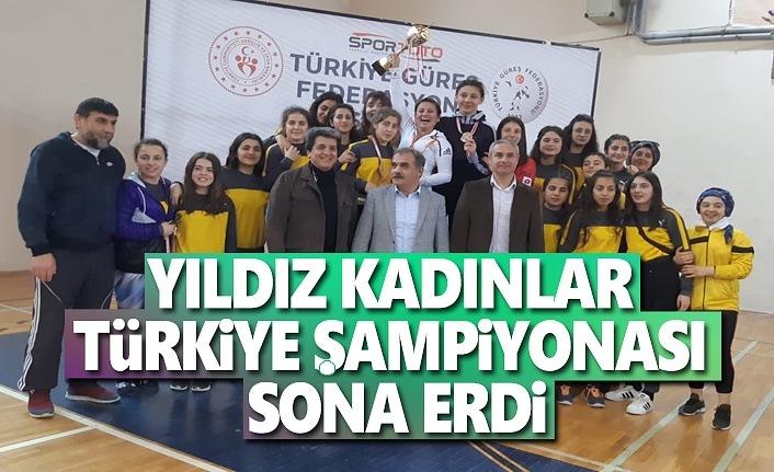 Yıldız Kadınlar Türkiye Şampiyonası Sona Erdi