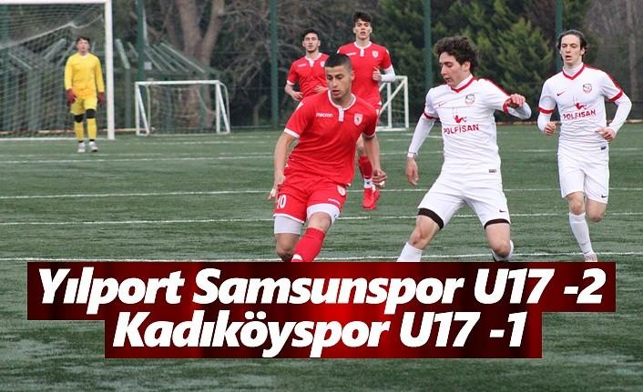 Yılport Samsunspor U17 - Kadıköyspor U17: 2-1