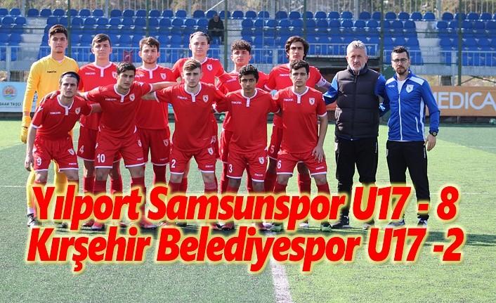 Yılport Samsunspor U17 – Kırşehir Belediyespor U17 : 8-2