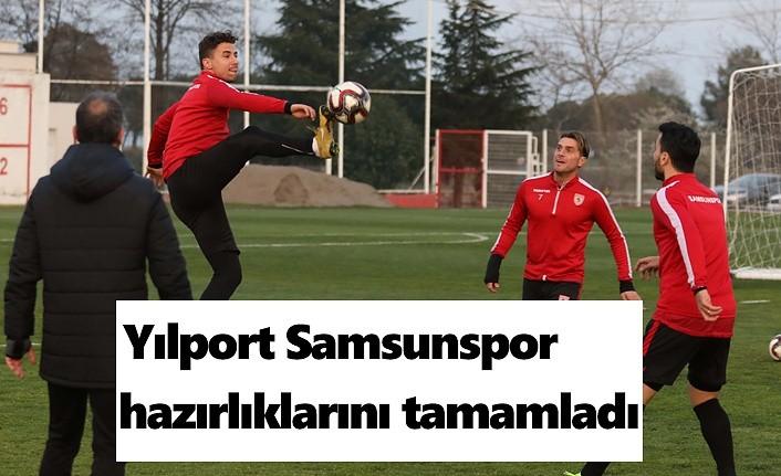 Samsunspor Bodrumspor Maçına hazır
