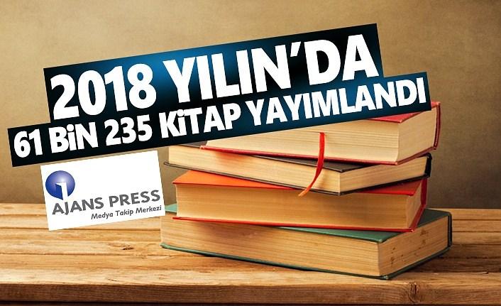 2018 Yılın'da 61 Bin 235 Kitap Yayımlandı