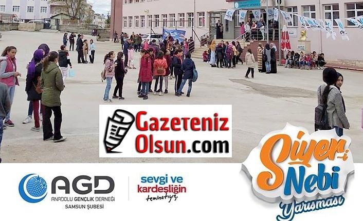 Anadolu Gençlik Derneği Samsun Şubesi'nden Siyer-i Nebi Yarışması