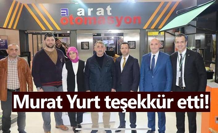 Arat Otomasyon - Murat Yurt teşekkür etti!