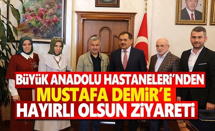 Büyük Anadolu'dan Mustafa Demir'e Hayırlı olsun Ziyareti