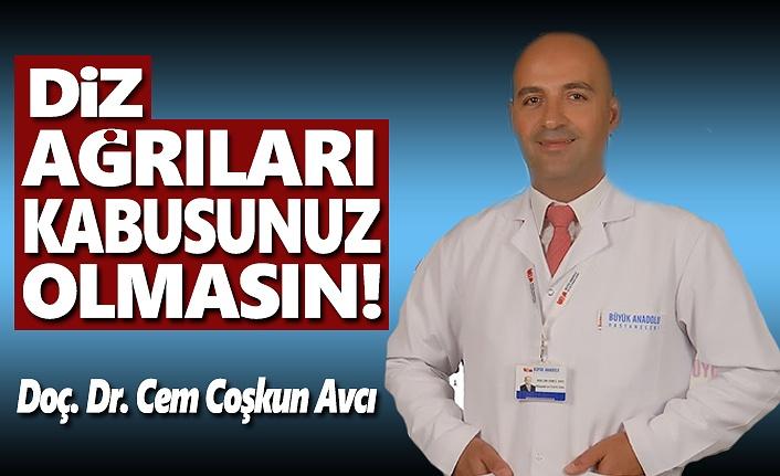Büyük Anadolu Uyarıyor, Diz ağrıları kabusunuz olmasın