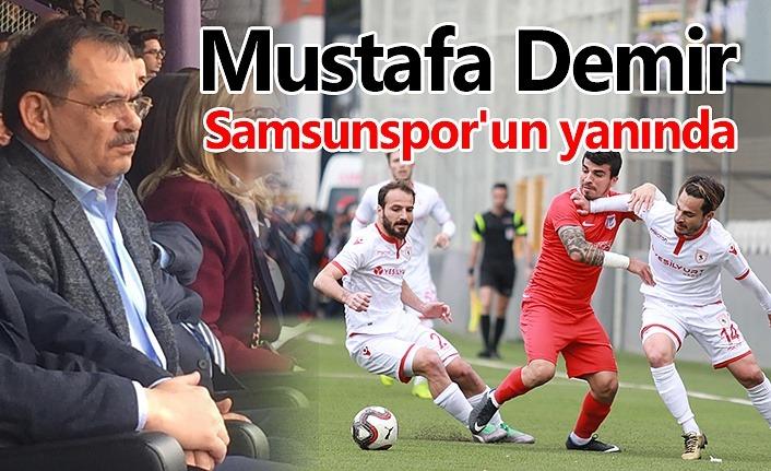 Demir, Samsunspor'u Keçiörengücü maçında yalnız bırakmadı