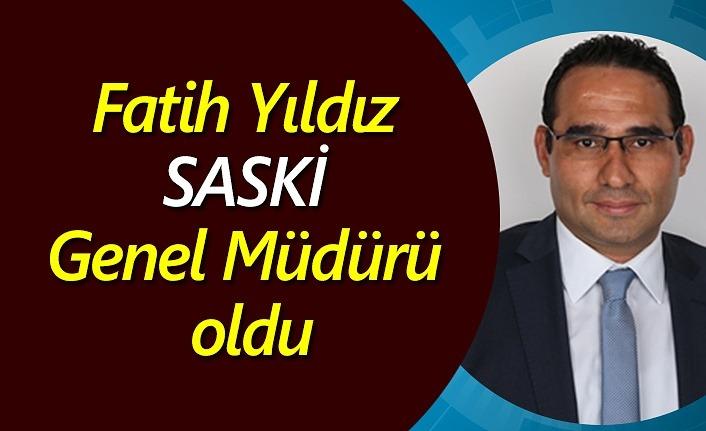 Fatih Yıldız SASKİ Genel Müdürü oldu