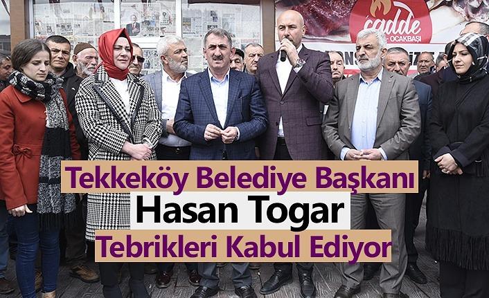 Hasan Togar: Tekkeköy'de 5 yılda 5 katı hizmet
