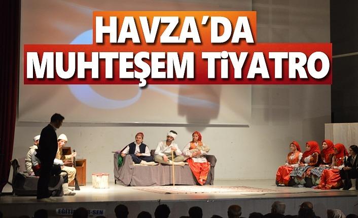 Havza'da Muhteşem Tiyatro