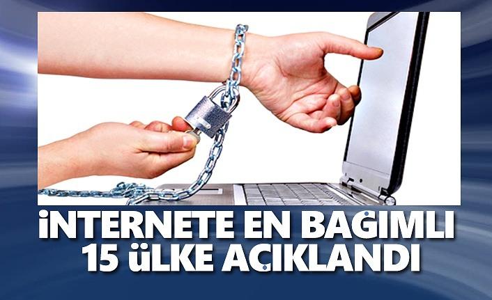 İnternete En  Bağımlı 15 Ülke
