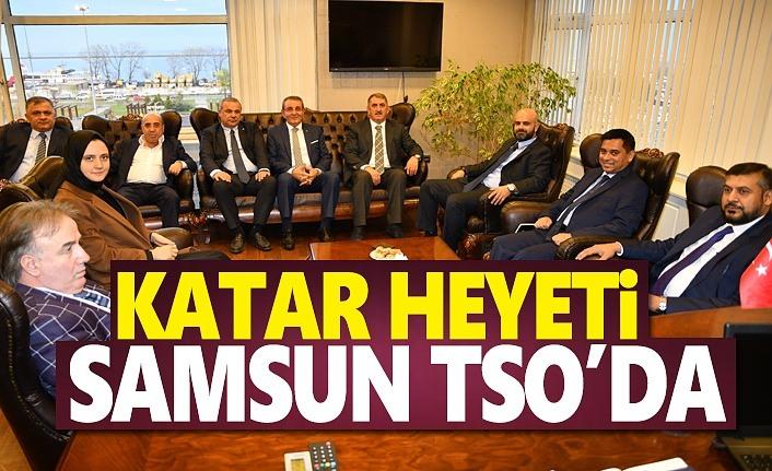Katar heyeti Samsun TSO'da