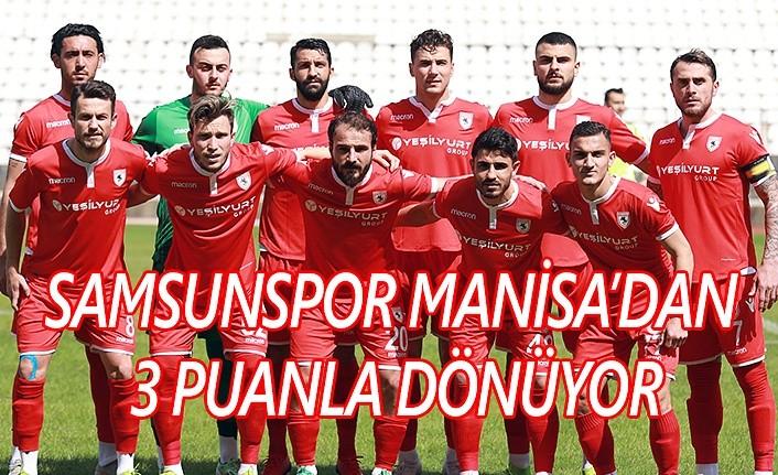 Manisaspor Samsunspor maç sonucu: 1-2