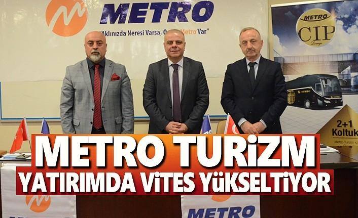Metro Turizm, Yatırımda Vites Yükseltiyor