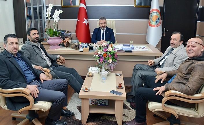 MHP'den Başkan Topaloğlu'na ziyaret