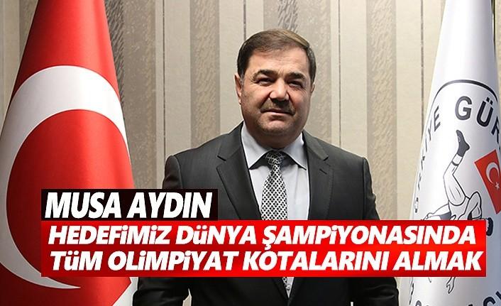 Musa Aydın, Dünya Şampiyonasında olimpiyat kotalarını almak