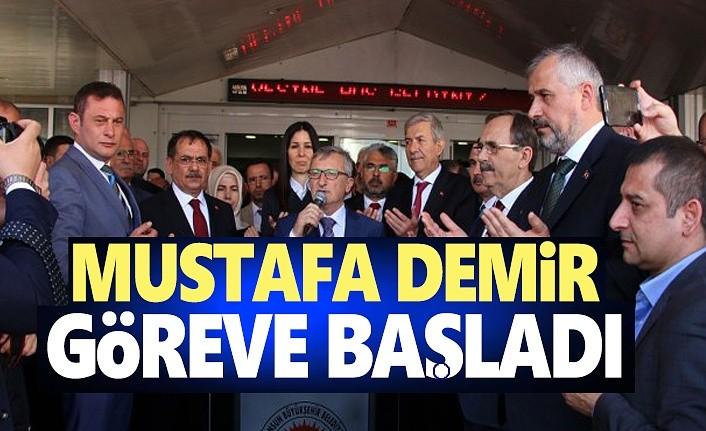 Mustafa Demir görevi devraldı