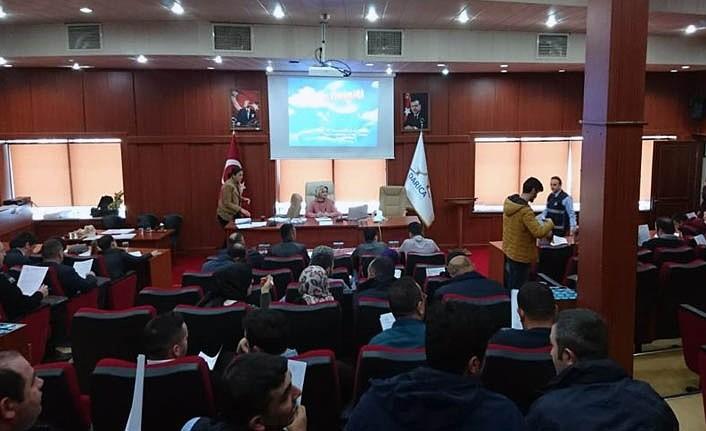 Nabız Osgb'den Darıca Belediyesi Personeline İş Güvenliği Eğitimi