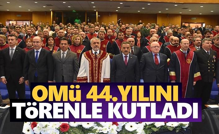 OMÜ 44 Yılını Törenle Kutladı