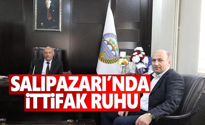 Salıpazarı'nda İttifak Ruhu MHP'li üye Vekalat Ediyor