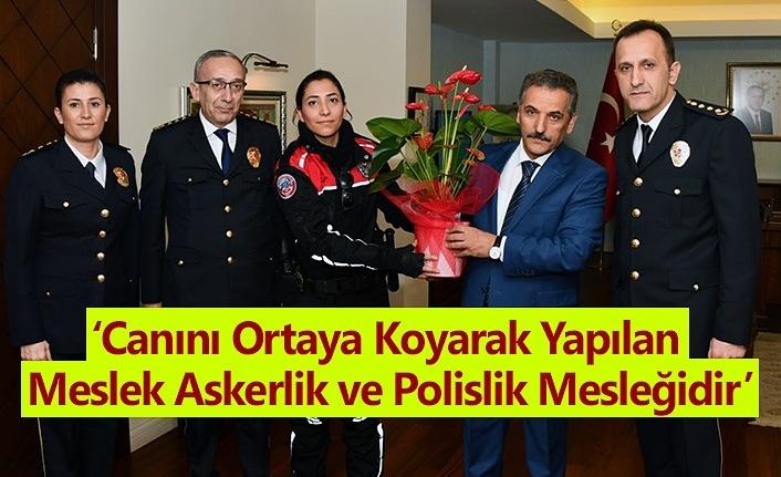 Samsun'da Polis Teşkilatı'nın Kuruluş Yıldönümü kutlanıyor