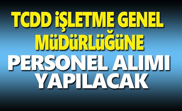 Samsun'da TCDD İşletme Genel Müdürlüğüne Elaman Alınacak