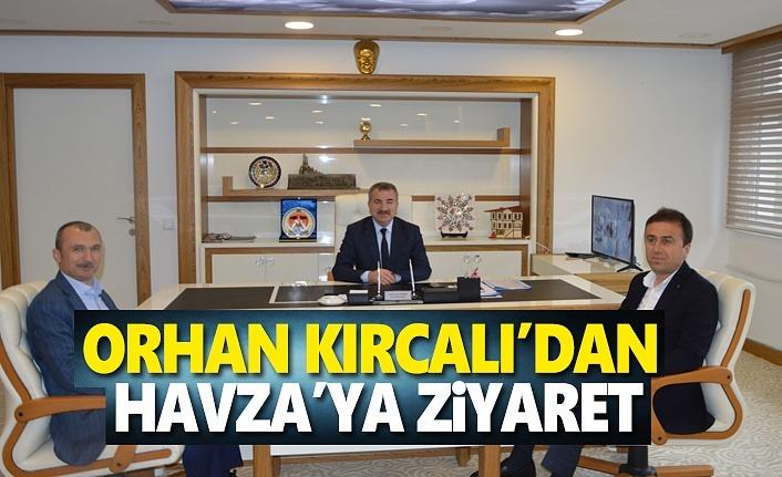 Samsun Milletvekili Orhan Kırcalı'dan Havza'ya ziyaret