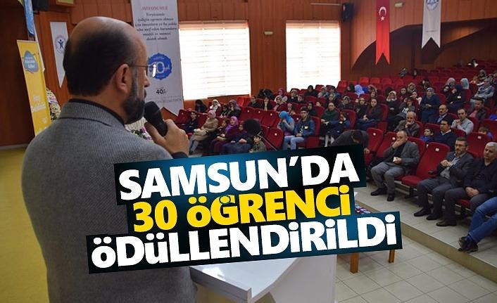 Samsun'da Ufka Yolculuk 7'nin Ödülleri Verildi