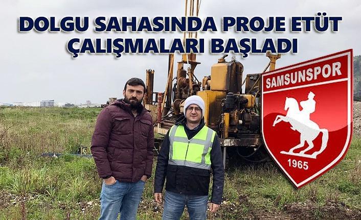 Samsunspor Altyapı Tesisleri proje etüt çalışmaları başladı