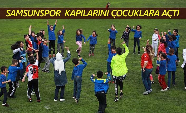 Samsunspor'da 23 Nisan şenliği