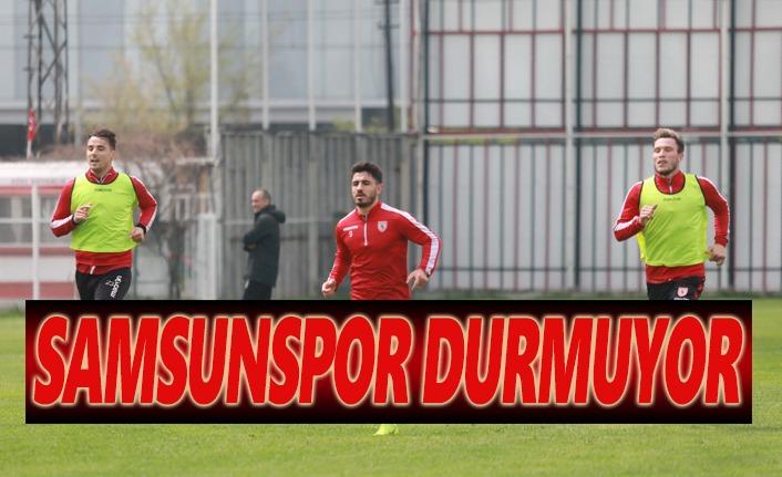 Samsunspor Manisaspor Maçına Hazırlanıyor