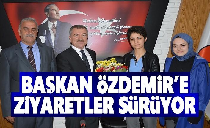 Sivil Toplum örgütlerin'den Başkan Özdemir'e Ziyaret
