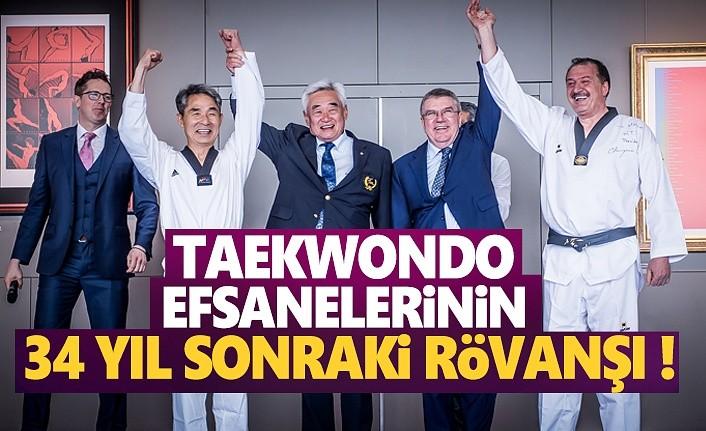 Taekwondo Efsanelerinin 34 Yıl Sonraki Rövanşı
