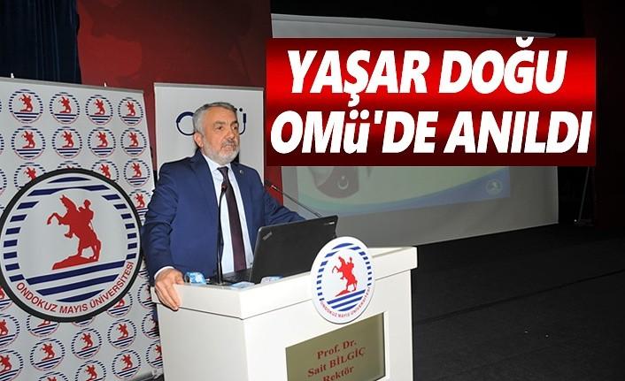 Türk Güreşinin Sembolü Yaşar Doğu OMÜ'de Anıldı