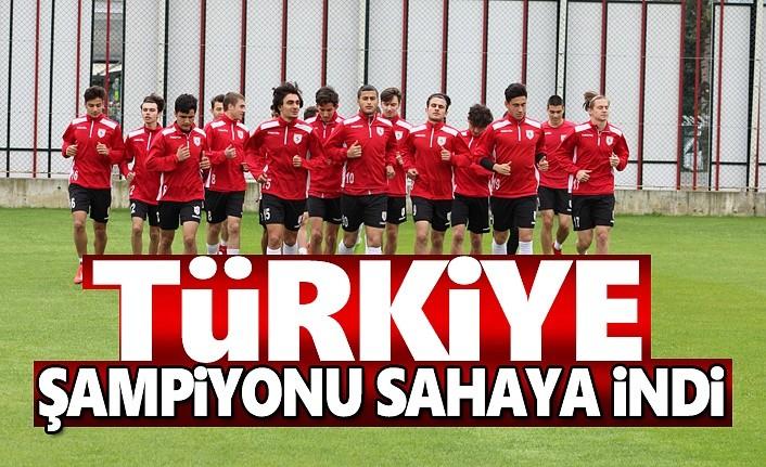 Türkiye Şampiyonu sahaya indi