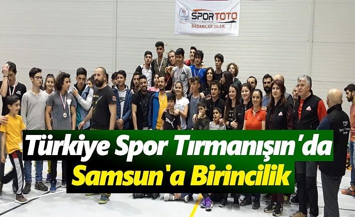 Türkiye Spor Tırmanışında Samsun'a Birincilik