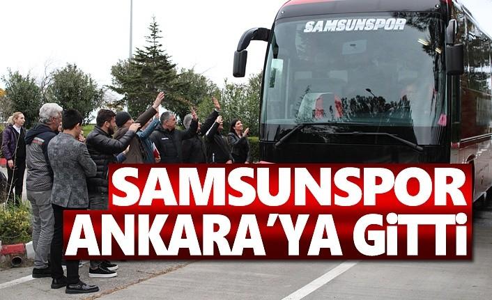 Yılport Samsunspor Ankaraya Gitti