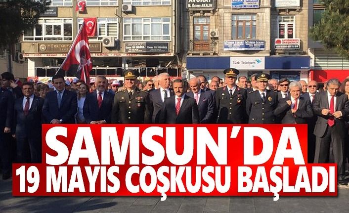 19 Mayıs Coşkusu Samsun'da başladı