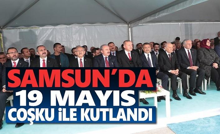 19 Mayıs Samsun'da Coşku İle Kutlandı