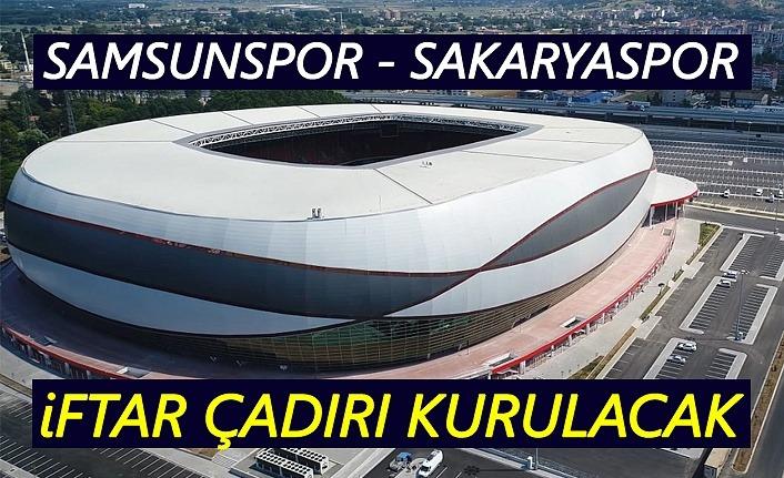 19 Mayıs Stadyumu'nun dışına iftar çadırı kurulacak!