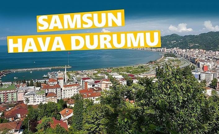 3 Mayıs Cuma Samsun'da hava durumu